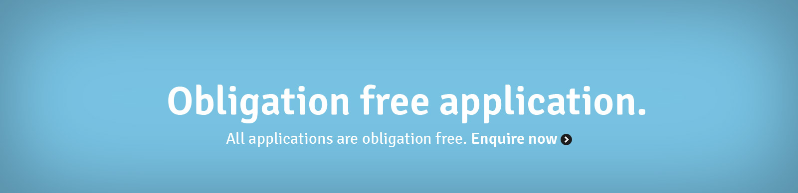 Obligation free application